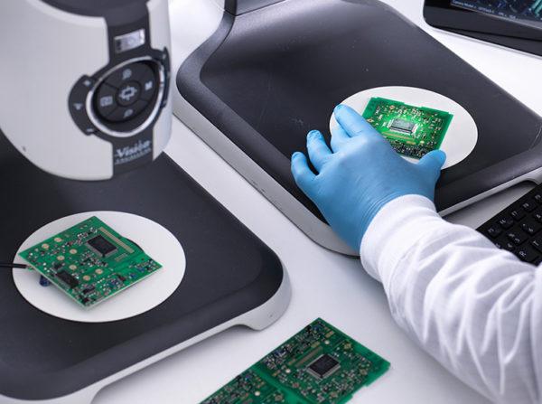 EVO Cam digital microscope for pcb inspection